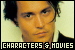 Characters and Movies of Johnny Depp